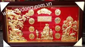 tranh đồng mạ vàng cao cấp