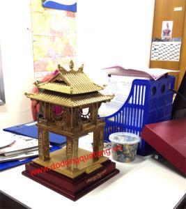 Mô hình khuê văn các đúc đồng tinh xảo,quà tặng văn hóa hà nội 40cm