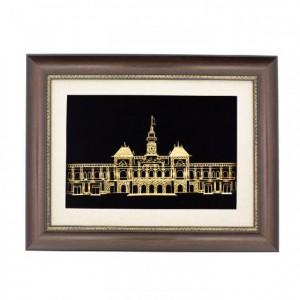 Tòa nhà Dinh độc lập, Trụ sở UBND TP hồ chí minh dát vàng 24 k