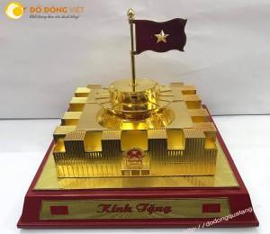 Tòa nhà Quốc hội mới đúc đồng mạ vàng 24k cao cấp