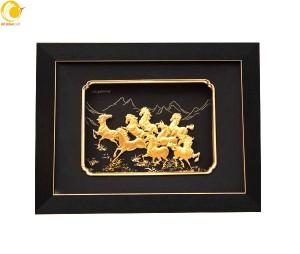 Cửa hàng quà lưu niệm, tranh vàng tại Hồ chí minh